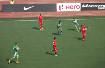 Duffy's goal ensures Salgaocar rise above relegation , send Aizawl to the brink of the ditch