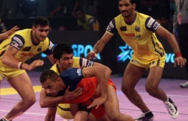 Puneri Paltan hold Telugu Titans to draw in their final home game