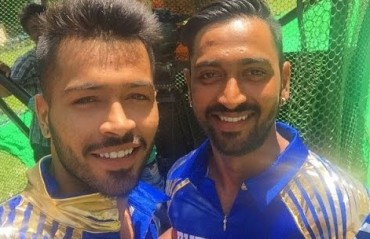 Brothers In Arms: Pandya siblings living their dream by playing together for MI