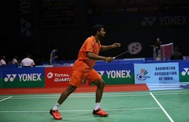 India's campaign ended at the China Masters GPG