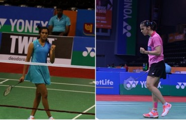 Saina & Sindhu: The only shuttlers to enter round two of Badminton Asia Championship