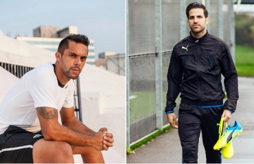 Robin Singh has made a new friend in Fabregas, thanks to his new brand endorsement!