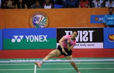 Saina Nehwal ousted by Wang Yihan in the semis of BAC