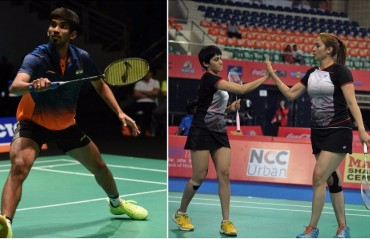 Srikanth dips one spot to No. 12 while Jwala/Ashwini climb one spot to No. 14