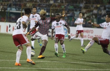 Drab goalless draw ends the season for Lajong as they lose Fed Cup semi to Bagan in aggregate