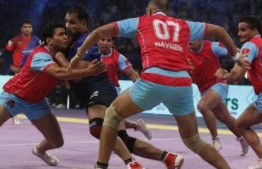Rajesh Narwal's stellar performance helps Jaipur Pink Panthers register biggest victory of season 2