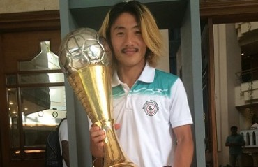 It's official: Katsumi Yusa will finally make his ISL debut at NEUFC