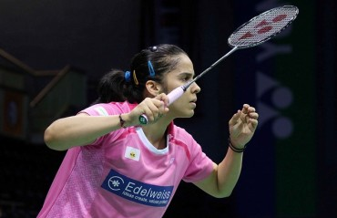 Saina the only Indian shuttler to qualify for the QF of Indonesia SSP