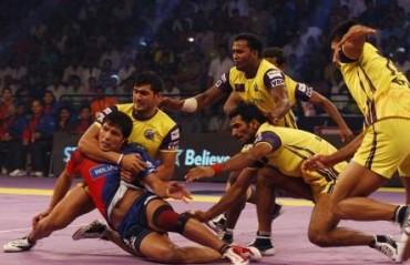 Telugu 'Tie'Tans hold Dabang Delhi to a draw