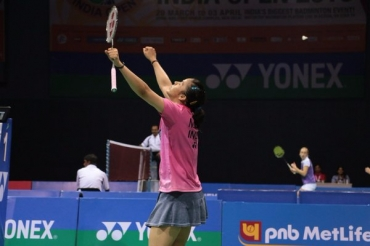 Saina Nehwal clinches her first title of the year & second Australian SS