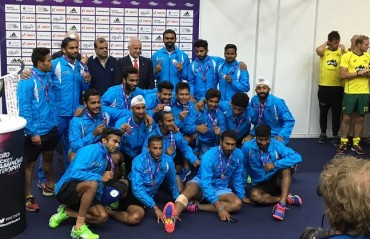 Hockey India announces cash award for Indian team for Champions Trophy silver