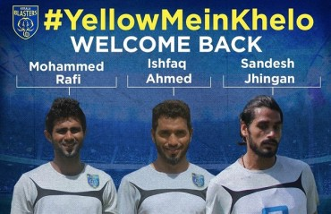 KBFC retains their star and specialist players Rafi, Ishfaq & Jhingan