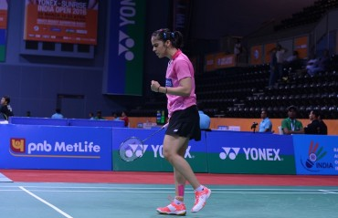 Blessed to be born with a go-getter attitude, have the potential to defeat anyone: Saina Nehwal