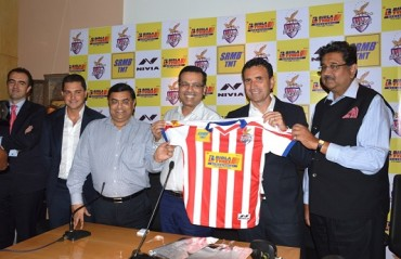 ATK unveils the team jersey & squad for the third season of ISL
