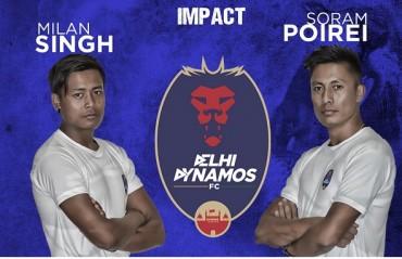 Delhi Dynamos sign Manipuri duo of Soram Poirei & Milan Singh for ISL 2016