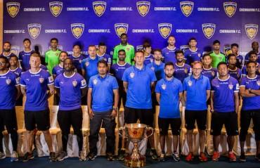 Champions Chennaiyin FC unveil squad