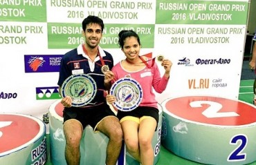 Pranaav/Sikki defeat Ivanov /Sorokina to clinch the Russian Open GP title