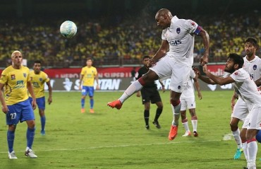 Play-by-Play: Kerala Blasters held to a goalless draw by Delhi Dynamos at Kochi