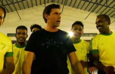 WATCH: Stephen Fleming adds Kiwi flavour to Indian kabaddi, performs Haka with players