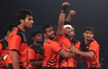 U Mumba join Bengaluru Bulls in the finals in season 2 of Pro Kabaddi League