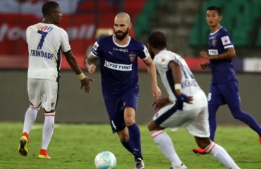 Chennaiyin FC register first win of the campaign by beating FC Goa 2-0 at home