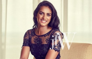 SMASHING SINDHU: Watch the Olympic silver medalist in a Drop Dead Gorgeous cover shoot