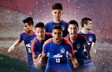 WATCH: Bengaluru FC's dressing room erupts with joy post the match