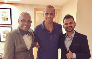 Rivaldo graces Delhi and the Dynamos with his presence