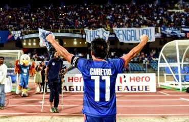 Let's keep improving BFC, you as fans & we as players --Watch Chhetri's message for the fans