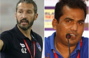 PRE-MATCH QUIPS: Zambrotta -Training conditions not ideal; Pasha says they're ready for a tough match