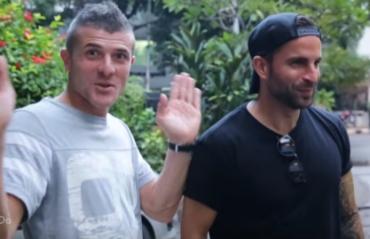 OFF WORK: Chennaiyin's Davide Succi and Manuele Blasi explore the city