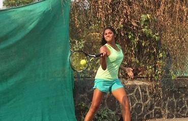 Mumbai's upcoming tennis talent, Shanaya Naik wins the AITA U-16 tournament