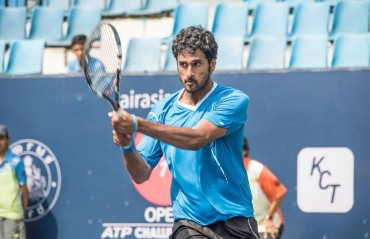 Myneni gets a wild card entry for the 2017 Chennai Open