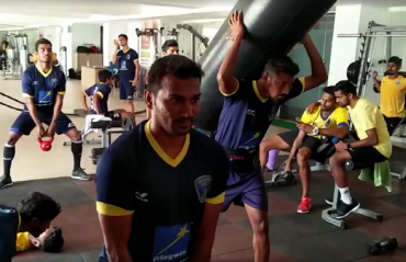 WATCH: Mumbai FC players take up the #MannequinChallenge