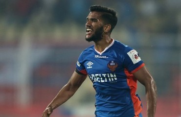 ISL has helped me develop my skills and become a better player: Sahil Tavora