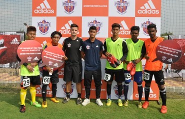 Five players selected from the Adidas challenge likely to represent FC Pune City