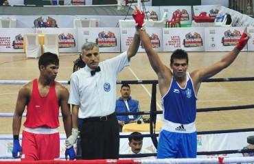 Olympic boxers Shiva, Manoj, Devendro win at men's Boxing Nationals