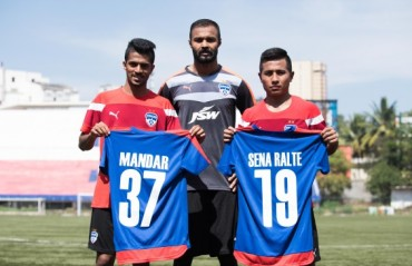 BFC unveil 3 new signings: Mandar, Sena and Arindam have now joined the Blues