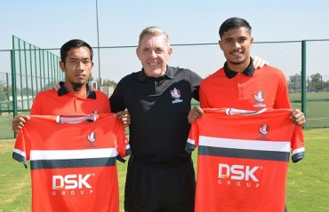 DSK Shivajians confirm the signings of Sumeet Passi and Ricky Lallawmawma