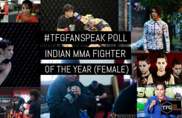 #TFGfanspeak Poll: 2016 Indian MMA Fighter Of the year - Female (Poll Disqualified)