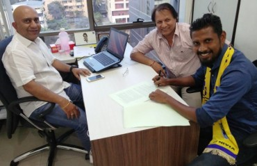 Steven Dias feels home at Mumbai FC; extends his contract at the Cooperage-based club