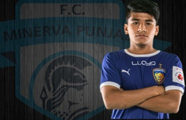 Anirudh Thapa to play for Minerva Punjab FC