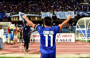 Chhetri wants Bengaluru FC to win AFC cup; says this I-League season would be difficult & challenging