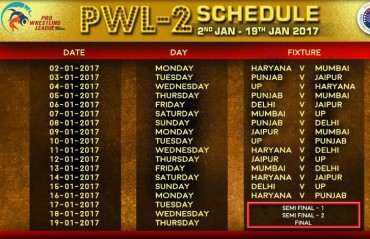 Pro Wrestling League season 2 set to get underway on January 2