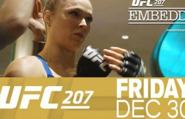 WATCH: UFC 207 Embedded Episodes 3, 4 and 5