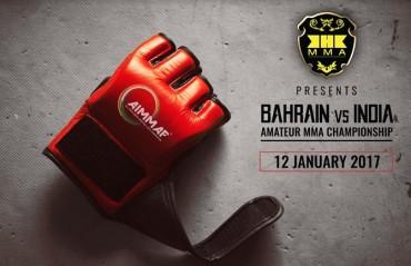 Bahrain vs. India Amateur MMA Championship announced by KHK MMA