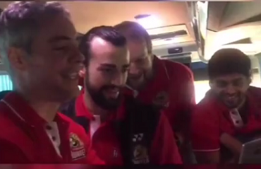 WATCH: Hyderabad coach Fernando Rivas leads the jamming session