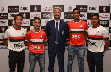 DSK Shivajians unveil their squad for I-League 2016-17