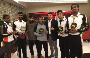 Team Relentless makes their mark at the Bahrain vs. India MMA championship