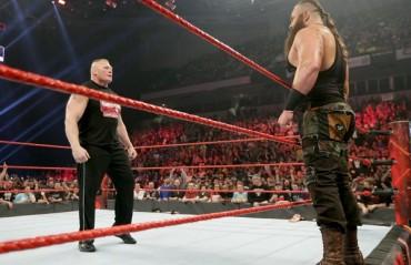 TFG Raw Review: Brock Lesnar returns, Kurt Angle announcement, more